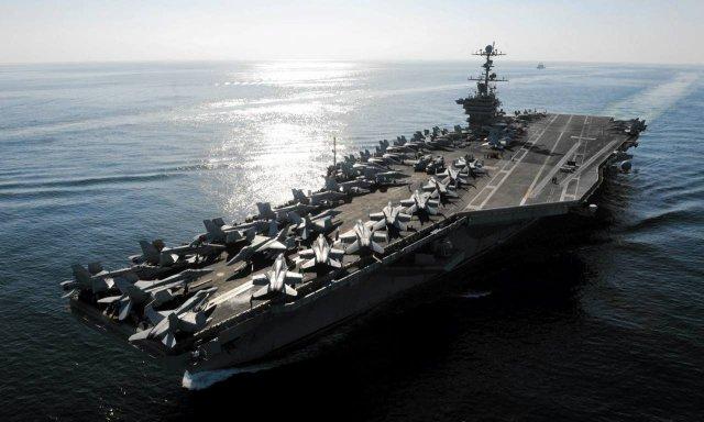 Lotniskowiec typu Nimitz - trzon armii USA