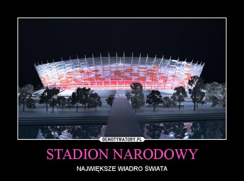 """Stadion """"Basen"""" Narodowy na wesoło"""