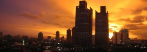 Dżakarta - slumsy i metropolia