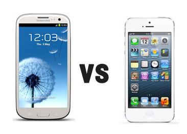 Samsung Galaxy S III czy iPhone 5?