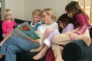 czytanie dzieciom