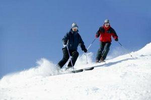 Zimowe szaleństwo na nartach