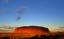 Uluru - czerwone serce Australii