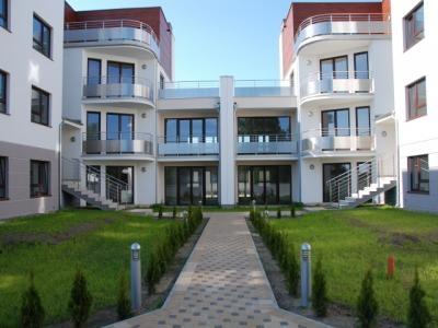 Apartamentowiec nad polskim morzem