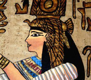 Egipski makijaż
