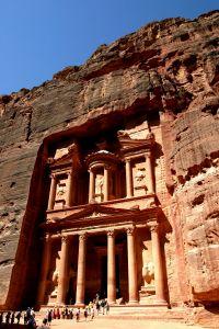 Petra - skalne miasto