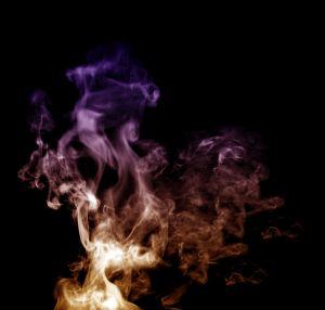 dym papierosa