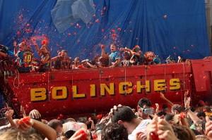 Święto pomidora w Hiszpanii