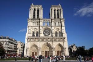 francja katedra Notre Dame