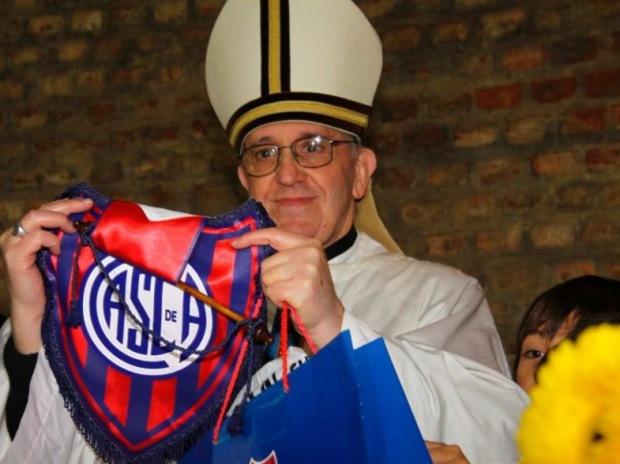 papież - kibic