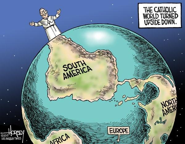 papież, który odwróci świat katolików