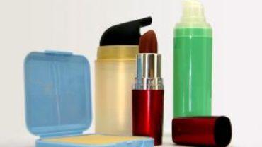pierwszy zestaw kosmetyków